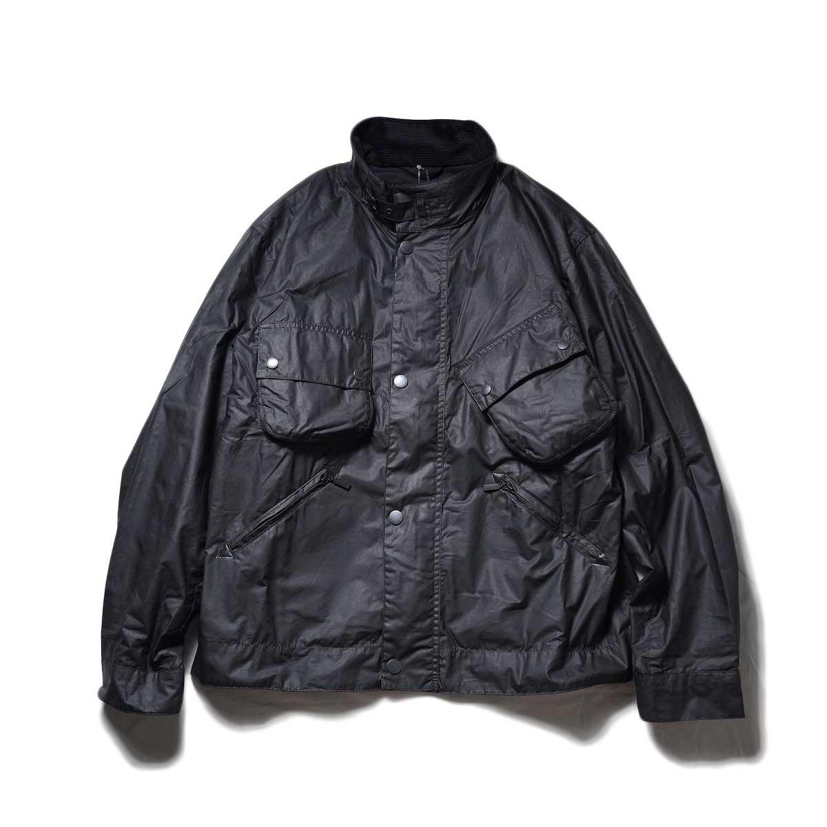Engineered Garments / COVER VEST - NYLON MICRO RIPSTOP (Black)