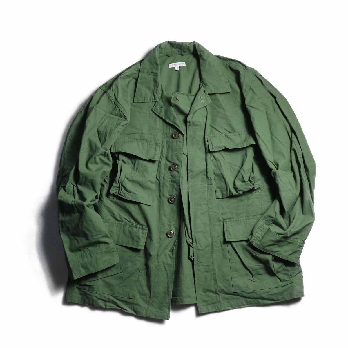 Engineered Garments / BDU Jacket -Cotton Ripstop (Olive)