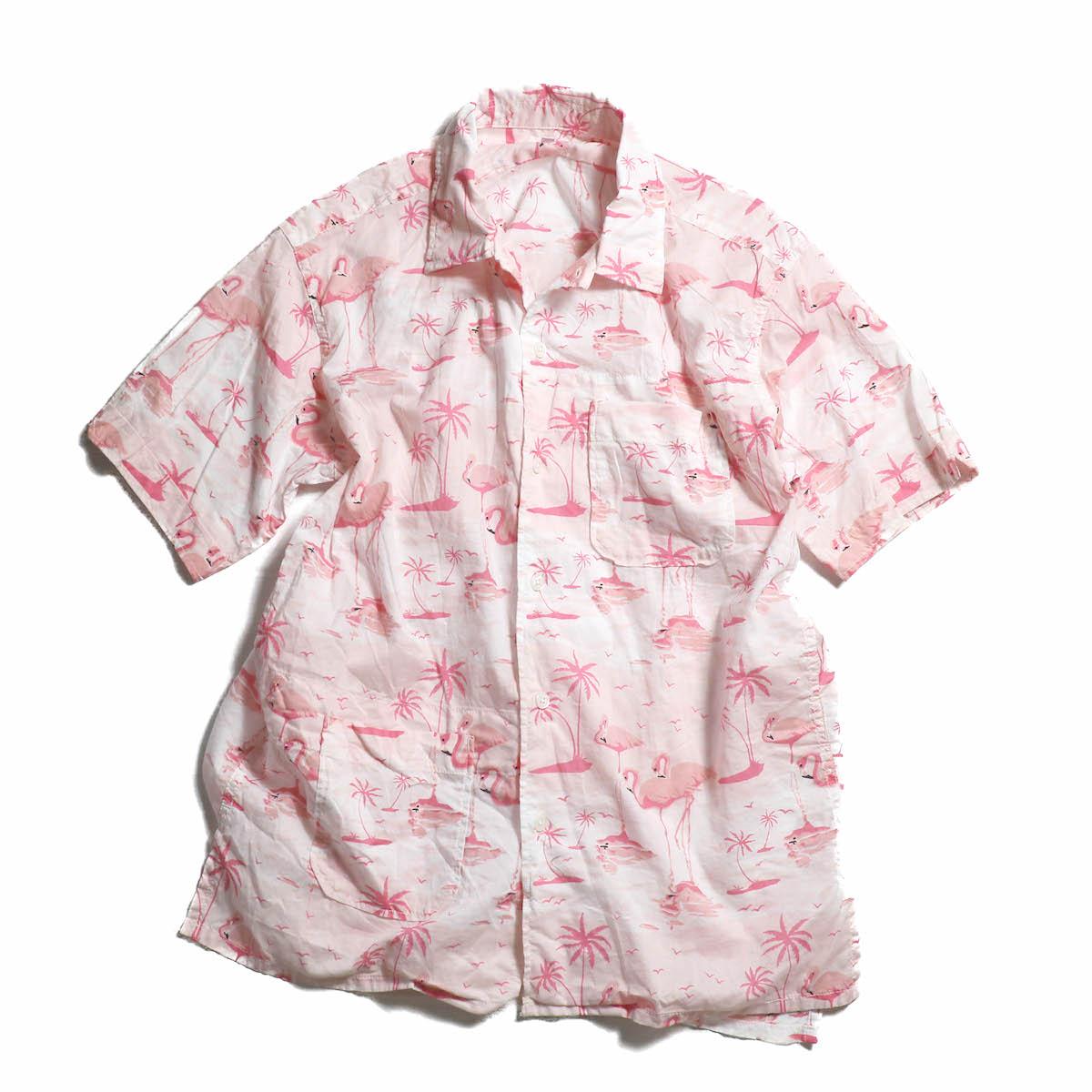 ENGINEERED GARMENTS / Camp Shirt - Flamingo Print
