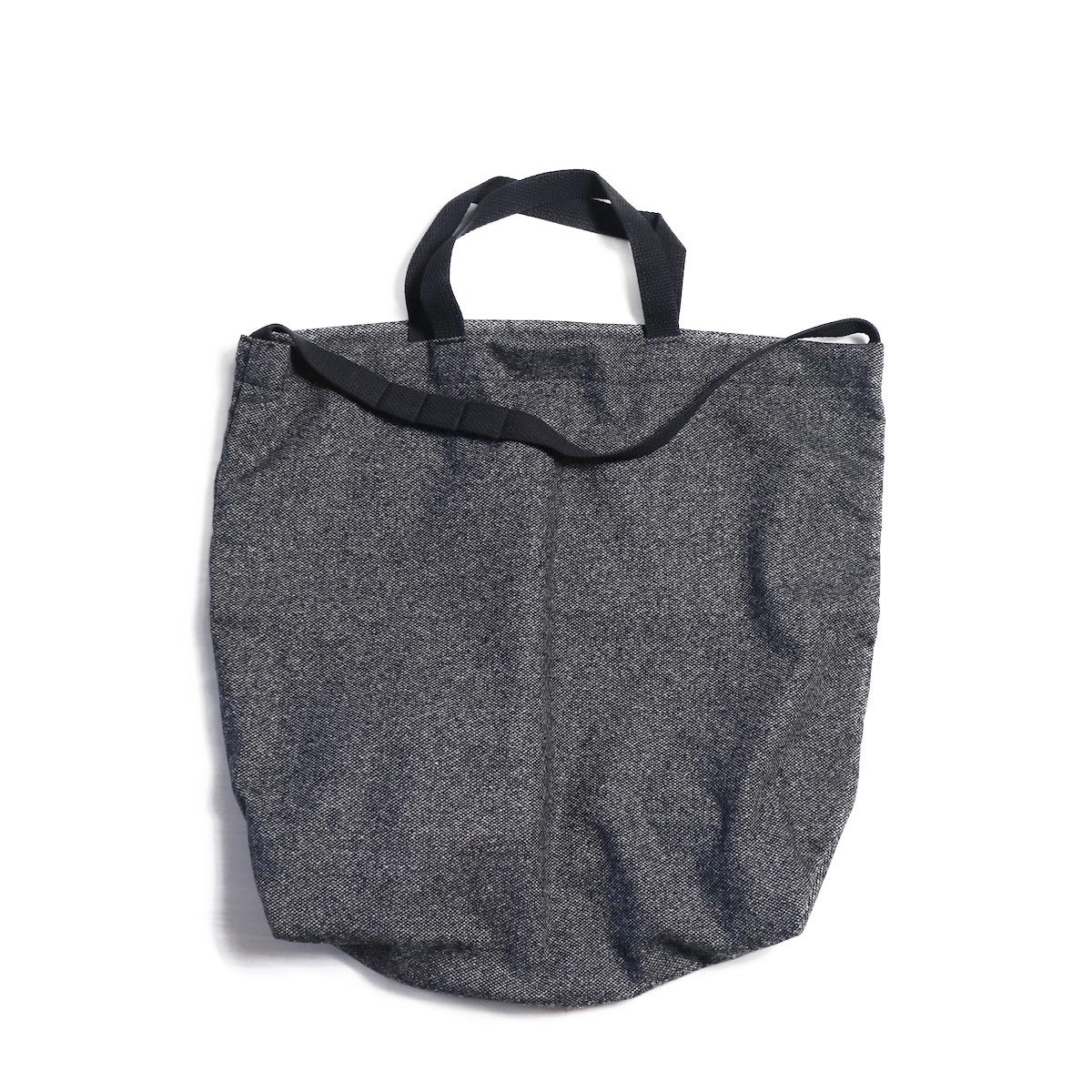 Engineered Garments / Carry All Tote w/ Strap -Wool Homespun