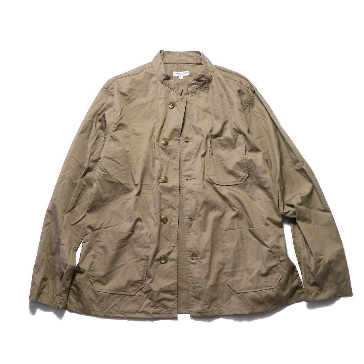 Engineered Garments / Dayton Shirt -High Count Twill -Khaki
