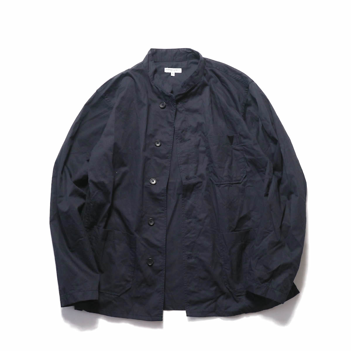 Engineered Garments / Dayton Shirt -High Count Twill -Dk.Navy