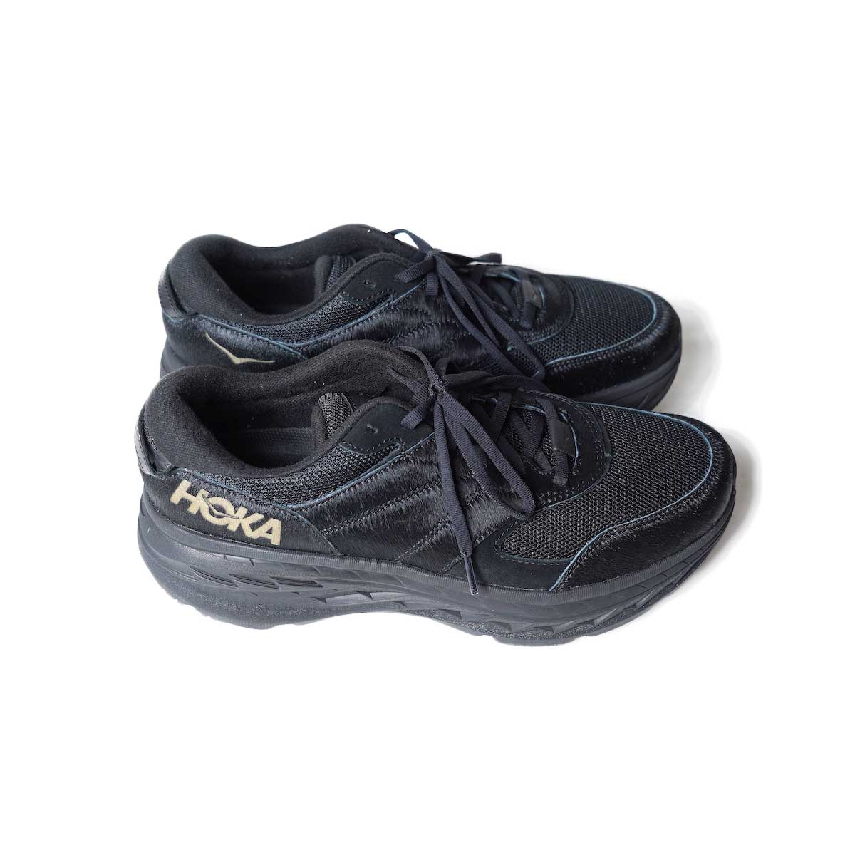 Engineered Garments × HOKA / ONE ONE Bondi L (BLACK) 横