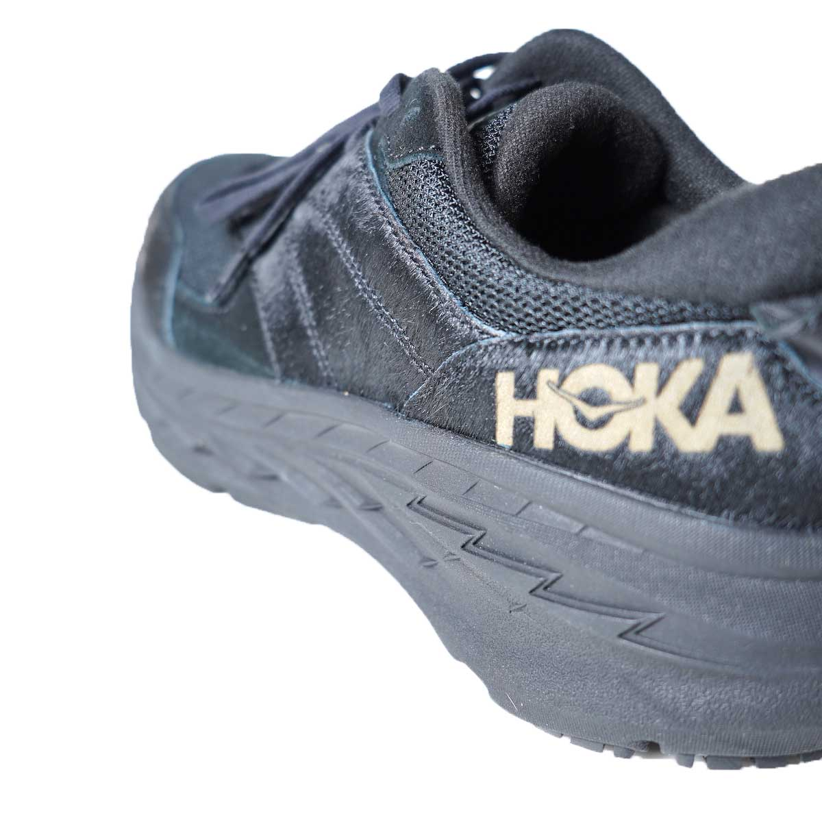 Engineered Garments × HOKA / ONE ONE Bondi L (BLACK) ロゴ