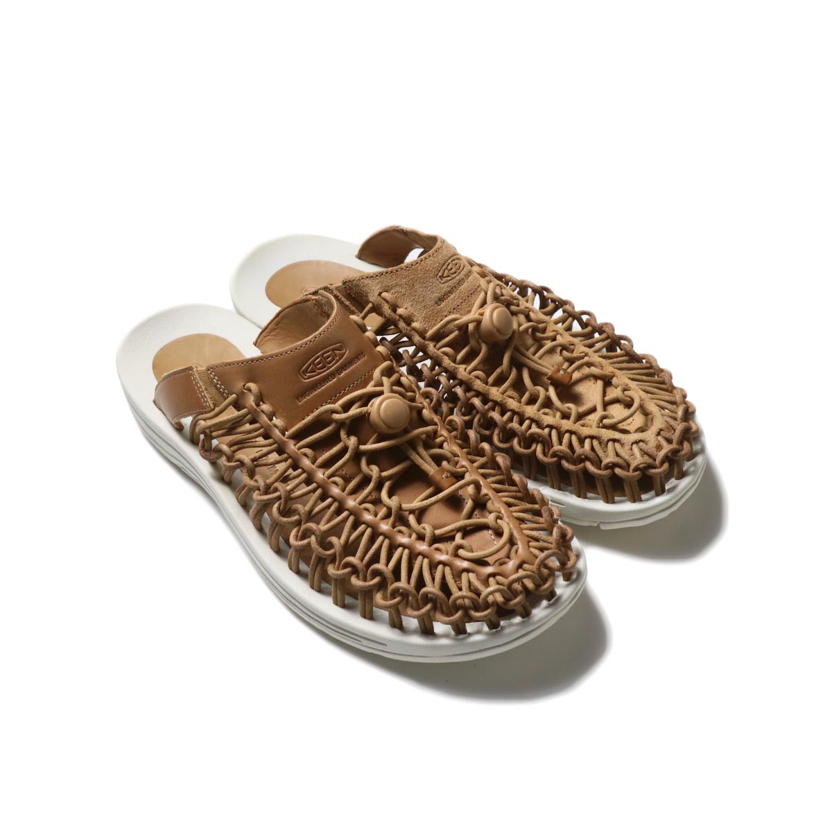 Engineered Garments × KEEN / UNEEK SLIDE (Cookie Dough)正面