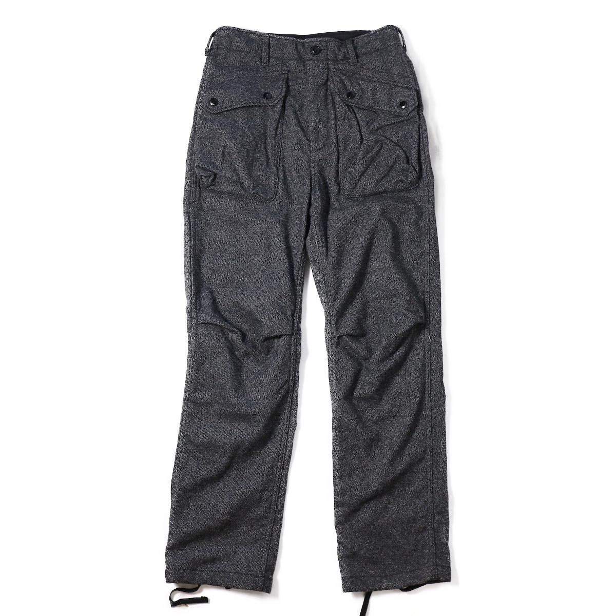 ENGINEERED GARMENTS / Norwegian Pant Wool Homespun -Grey