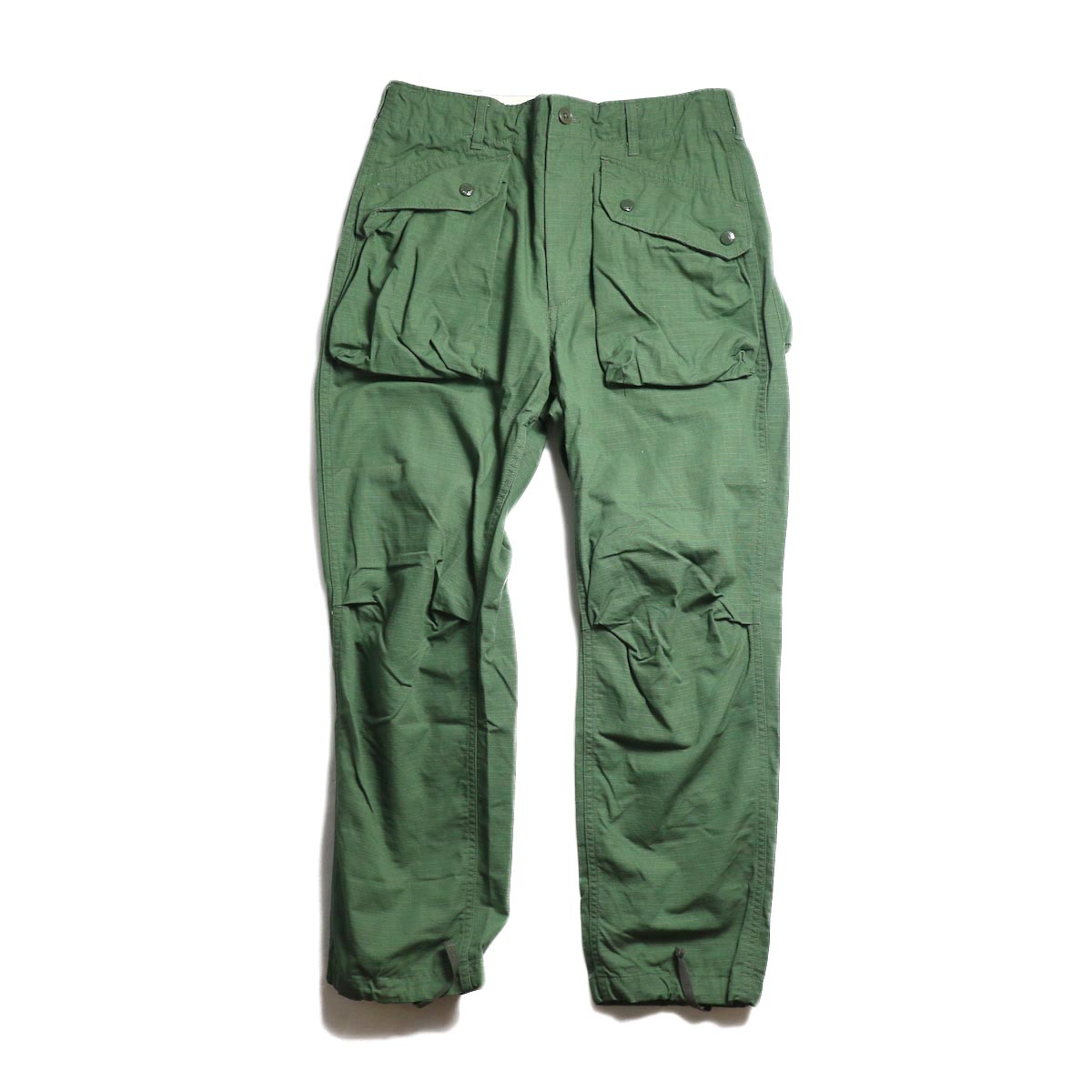 ENGINEERED GARMENTS / Norwegian Pant -Cotton Ripstop (Olive)