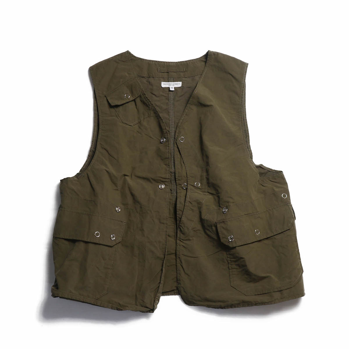 Engineered Garments / Upland Vest -4.5oz Waxed Coton
