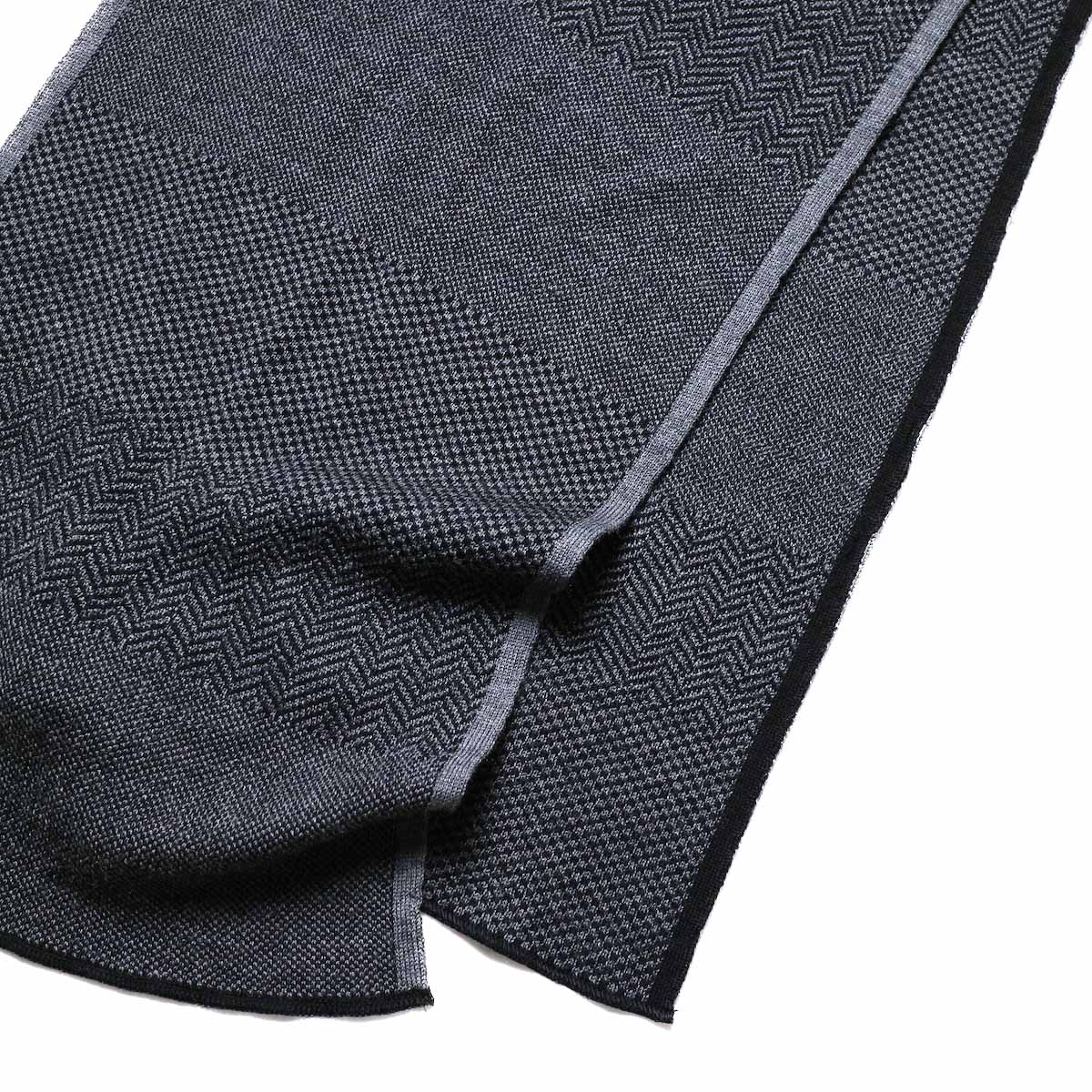 Engineered Garments / Knit Scarf - Wool HBチャコール