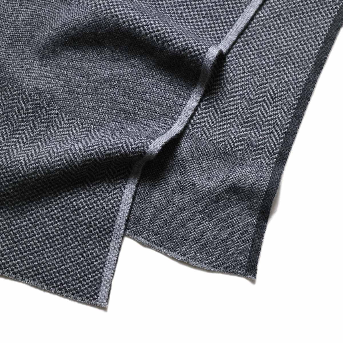 Engineered Garments / Knit Scarf - Wool HB グレー