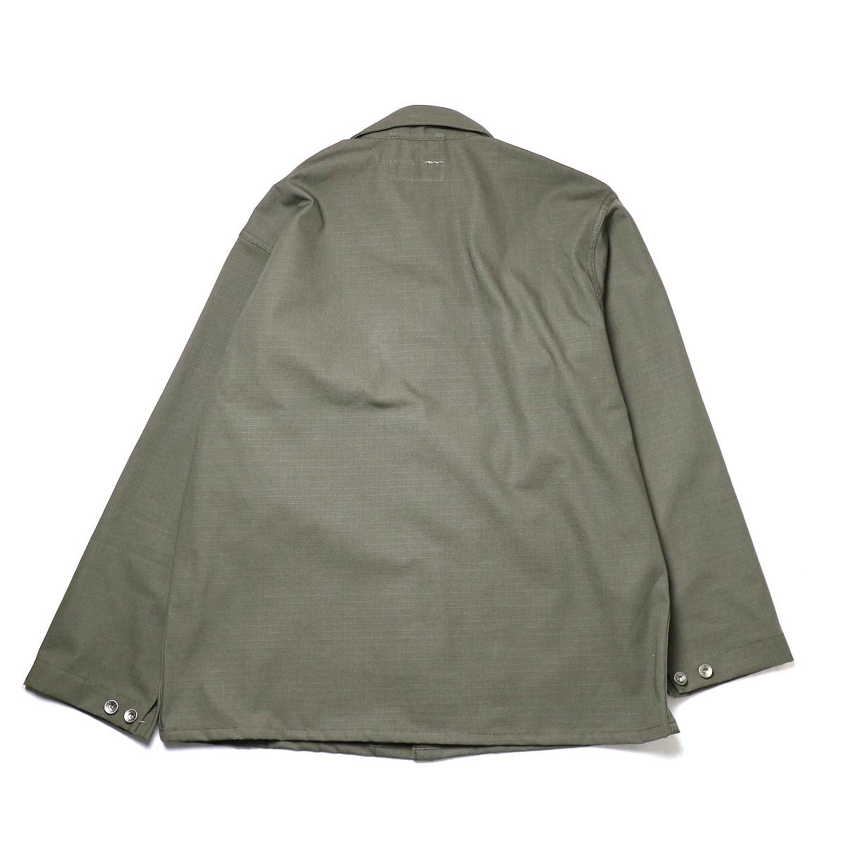 Engineered Garments Workaday / Utility Jacket - Cotton Ripstop (Olive)背面