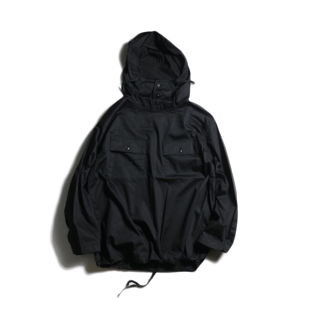 Engineered Garments / Cagoule Shirt -Cotton Nano Twill (Black)