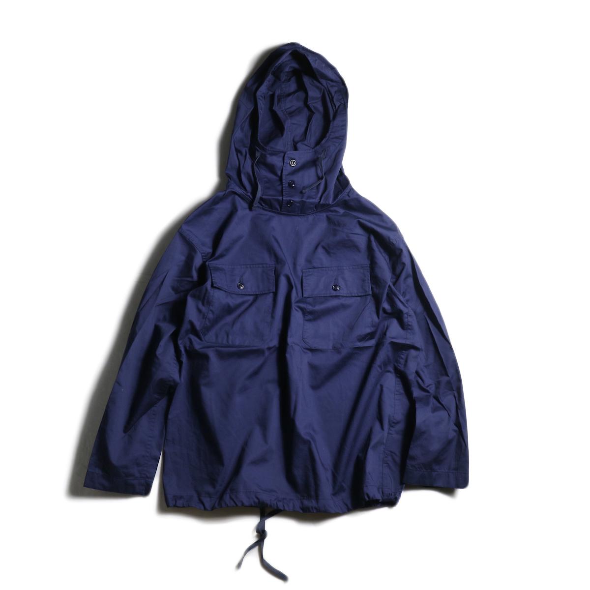 Engineered Garments / Cagoule Shirt -Cotton Nano Twill (Navy)