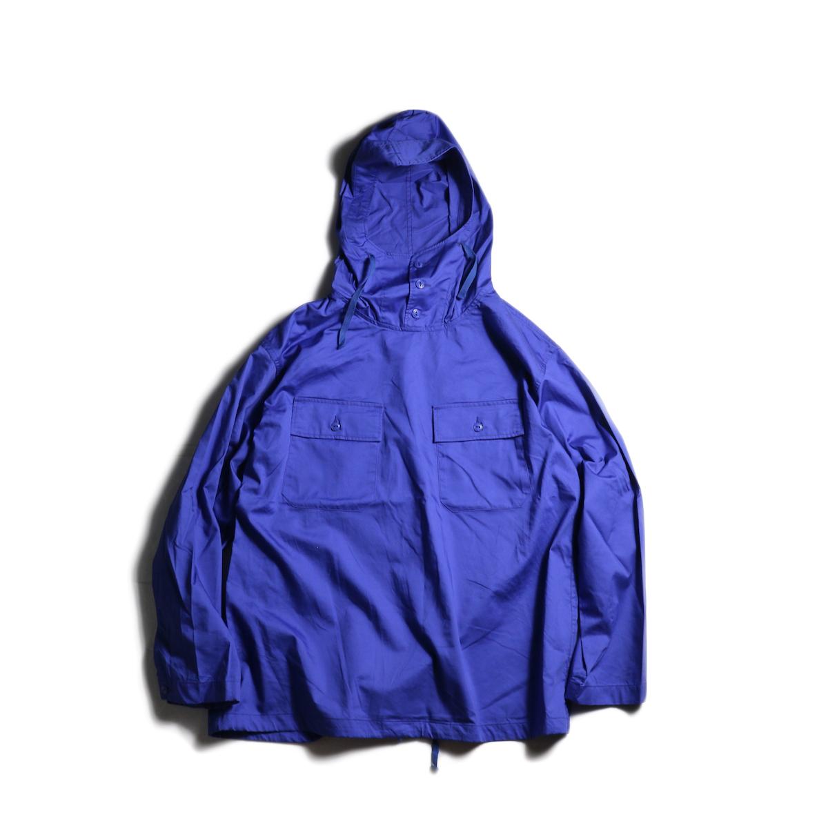 Engineered Garments / Cagoule Shirt -Cotton Nano Twill (Royal)