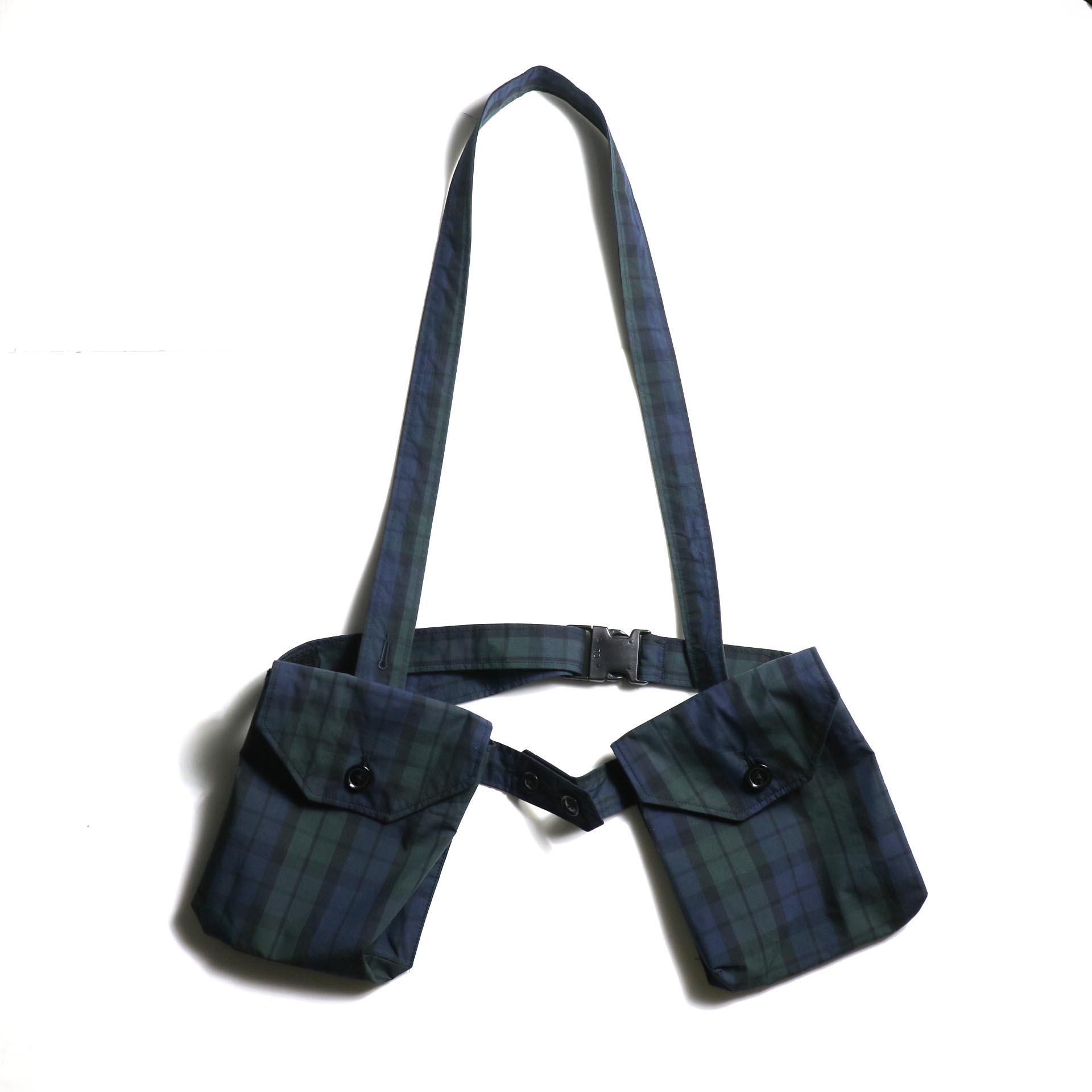 Engineered Garments / Waist Bag -Nyco Cloth (Blackwatch)