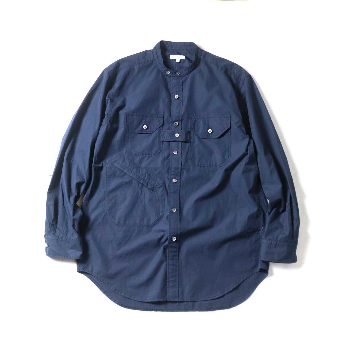 Engineered Garments / Banded Collar Shirt -100