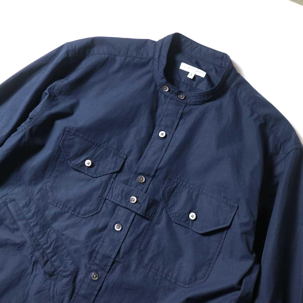 EngineeEngineered Garments / Banded Collar Shirt -100