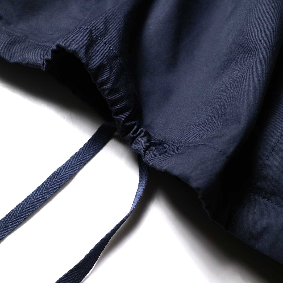 Engineered Garments / Cagoule Shirt -High Count Twill (Dk.Navy)裾