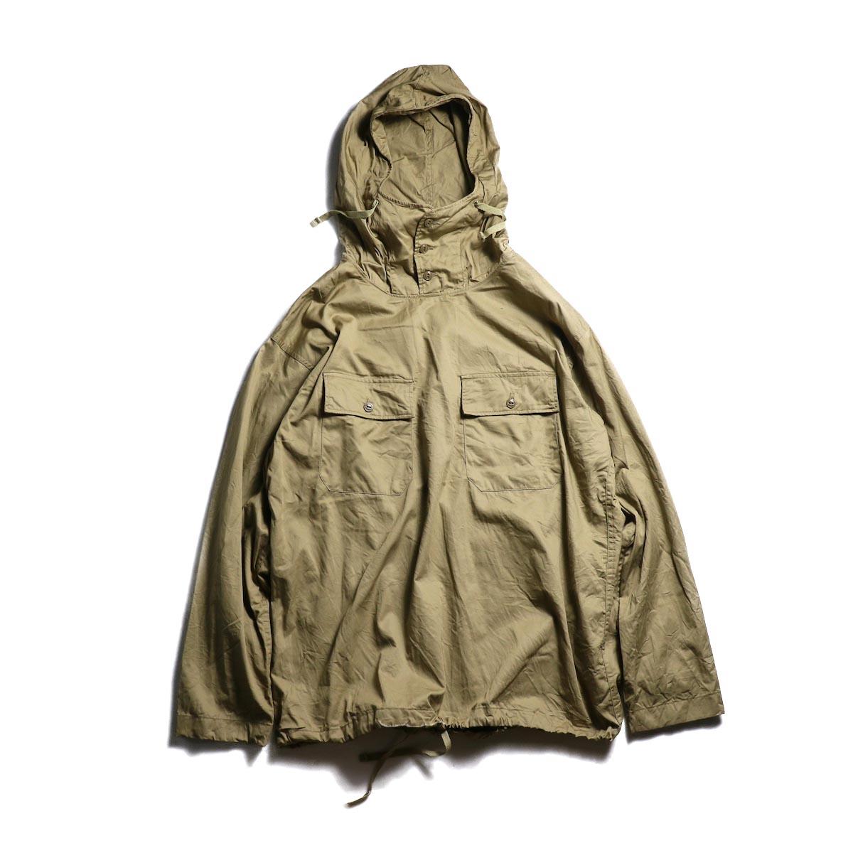 Engineered Garments / Cagoule Shirt -Fineline Twill (Khaki)