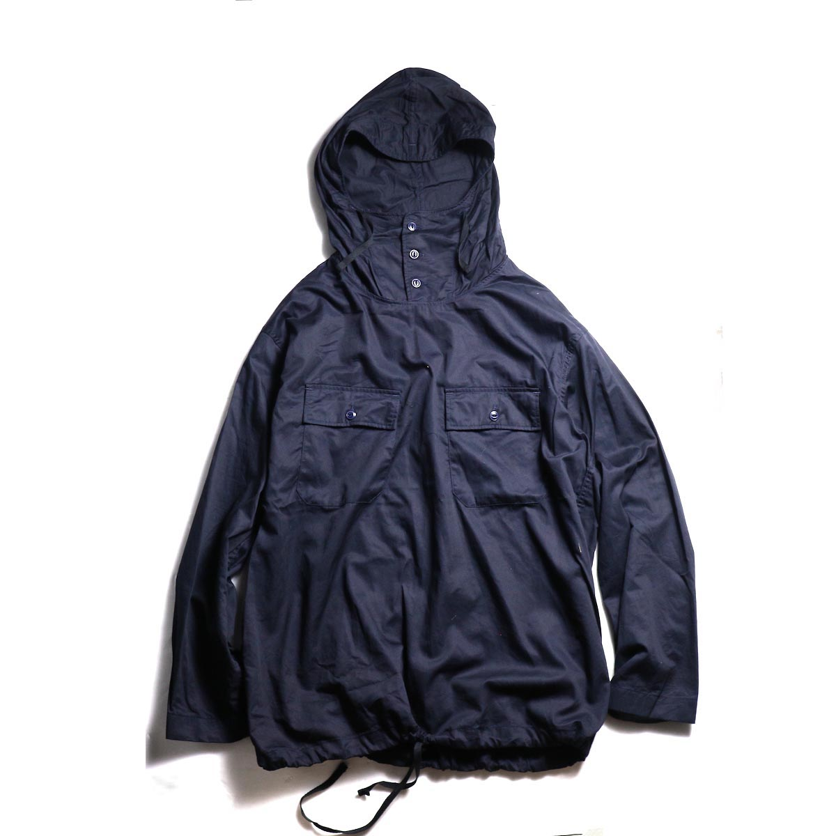 Engineered Garments / Cagoule Shirt -Fineline Twill (Dk.Navy)