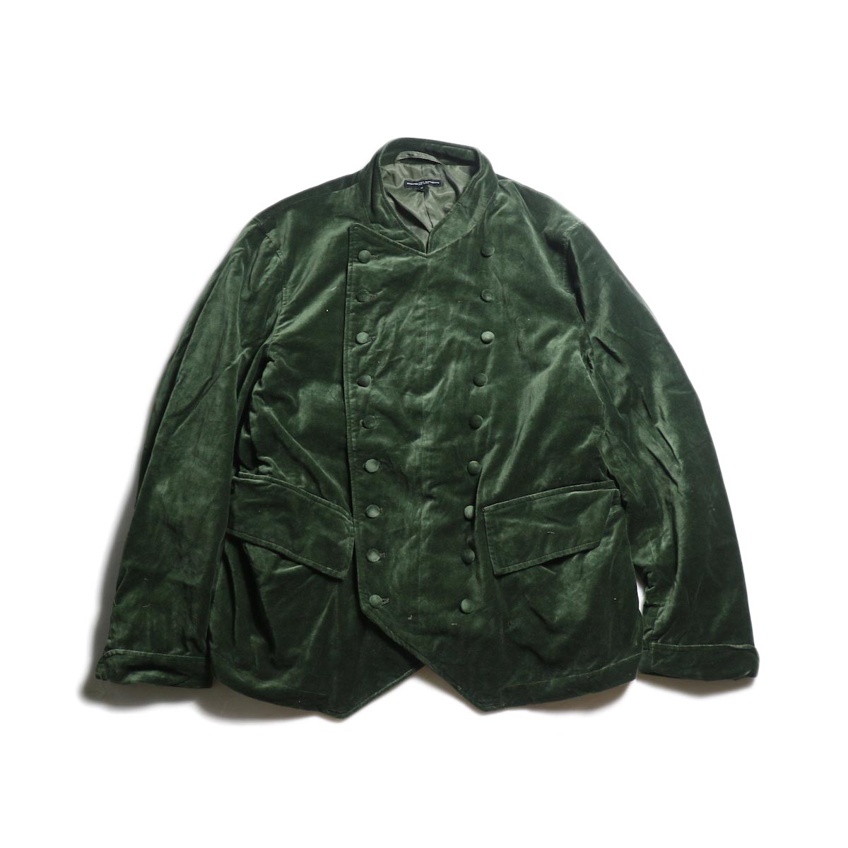 Engineered Garments / Chelsea Jacket -Cotton Velveteen (Olive)