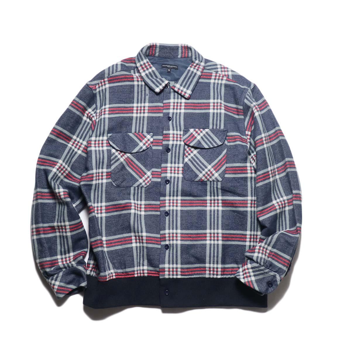 Engineered Garments / Classic Shirt -Big Plaid (Navy / Teal / Red)