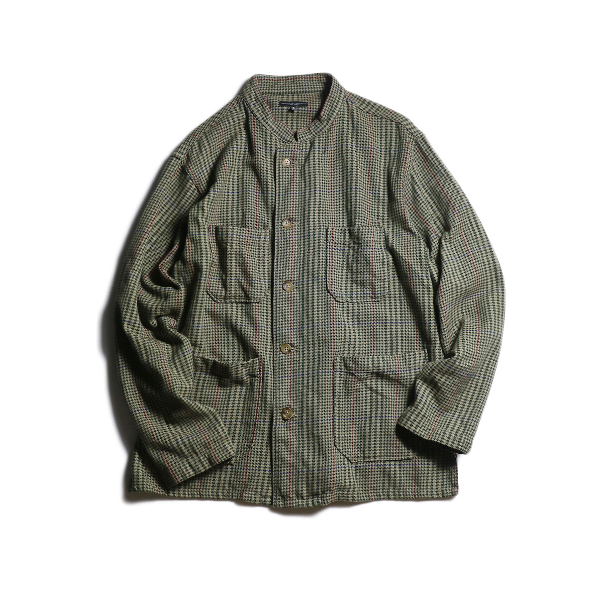 Engineered Garments / Dayton Shirt -Gunclub Check Twill (Brown)