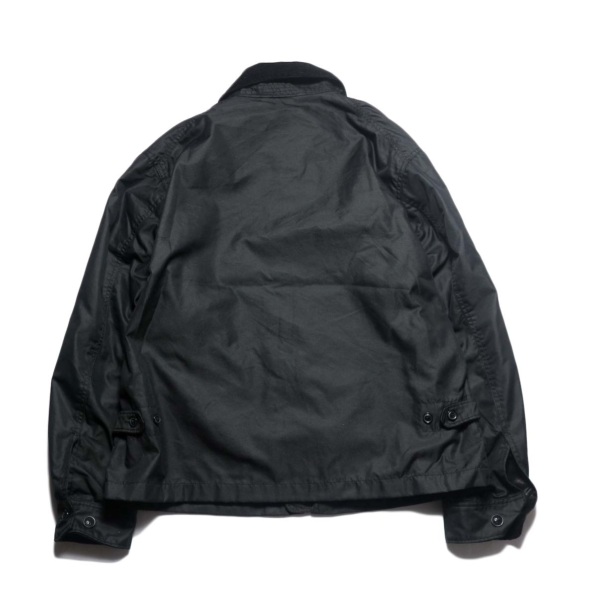 Engineered Garments / Driver Jacket - Pc Iridescent Twill (Black)背面