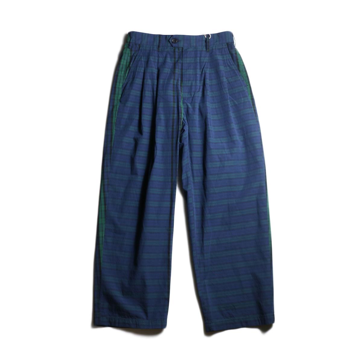Engineered Garments /  Emerson Pant -Big Repeat Madras (Black Watch)