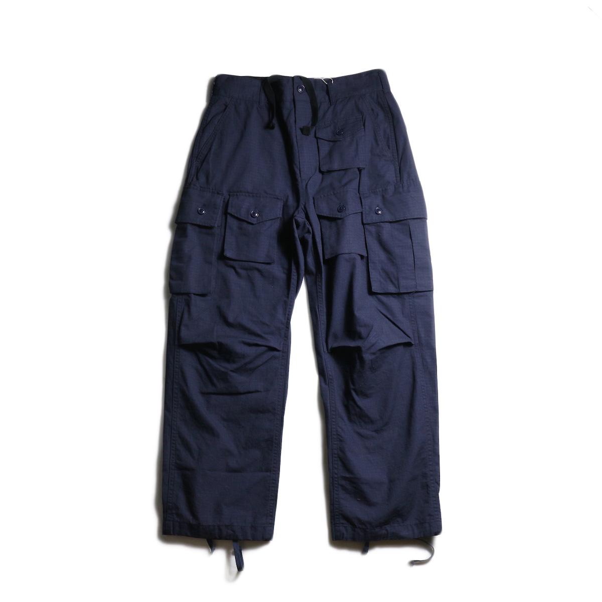 ENGINEERED GARMENTS /  FA Pant -Cotton Ripstop (Navy) 全体