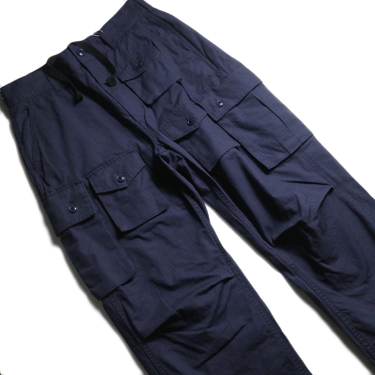 ENGINEERED GARMENTS /  FA Pant -Cotton Ripstop (Navy)  ウエスト