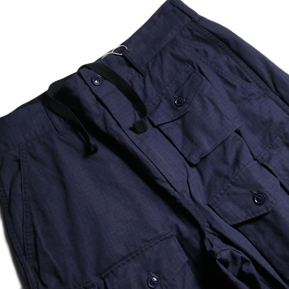 ENGINEERED GARMENTS /  FA Pant -Cotton Ripstop (Navy) ポケット