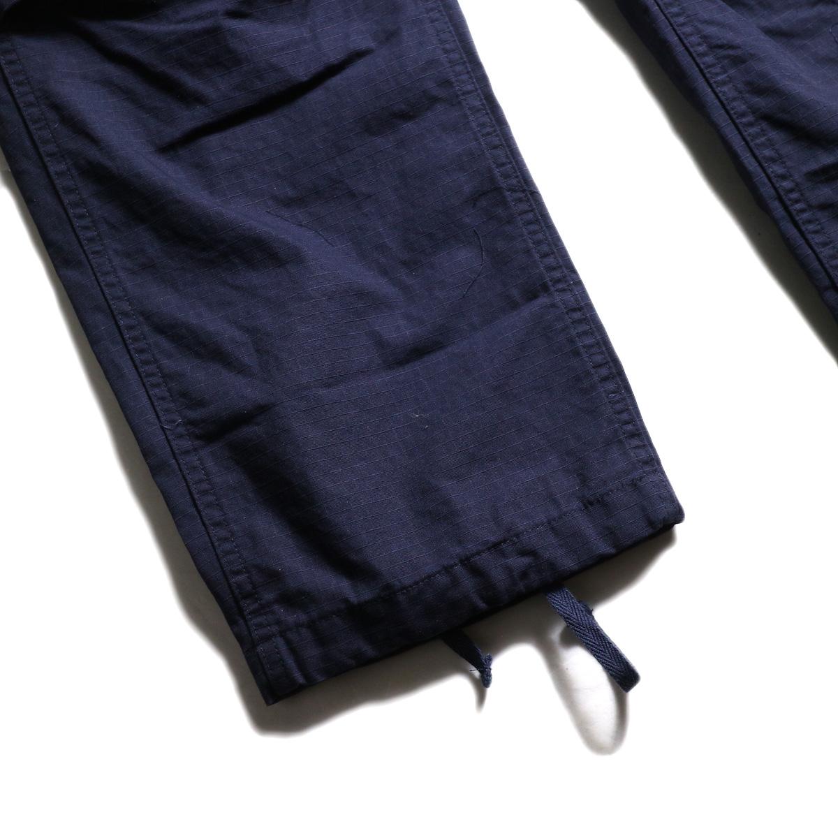 ENGINEERED GARMENTS /  FA Pant -Cotton Ripstop (Navy) ドローコード