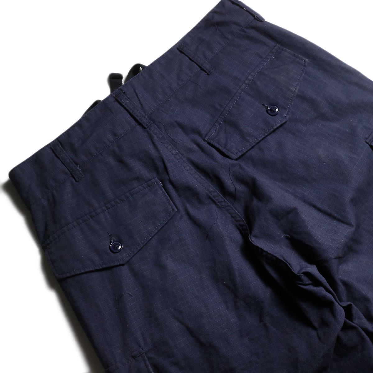 ENGINEERED GARMENTS /  FA Pant -Cotton Ripstop (Navy) ヒップポケット