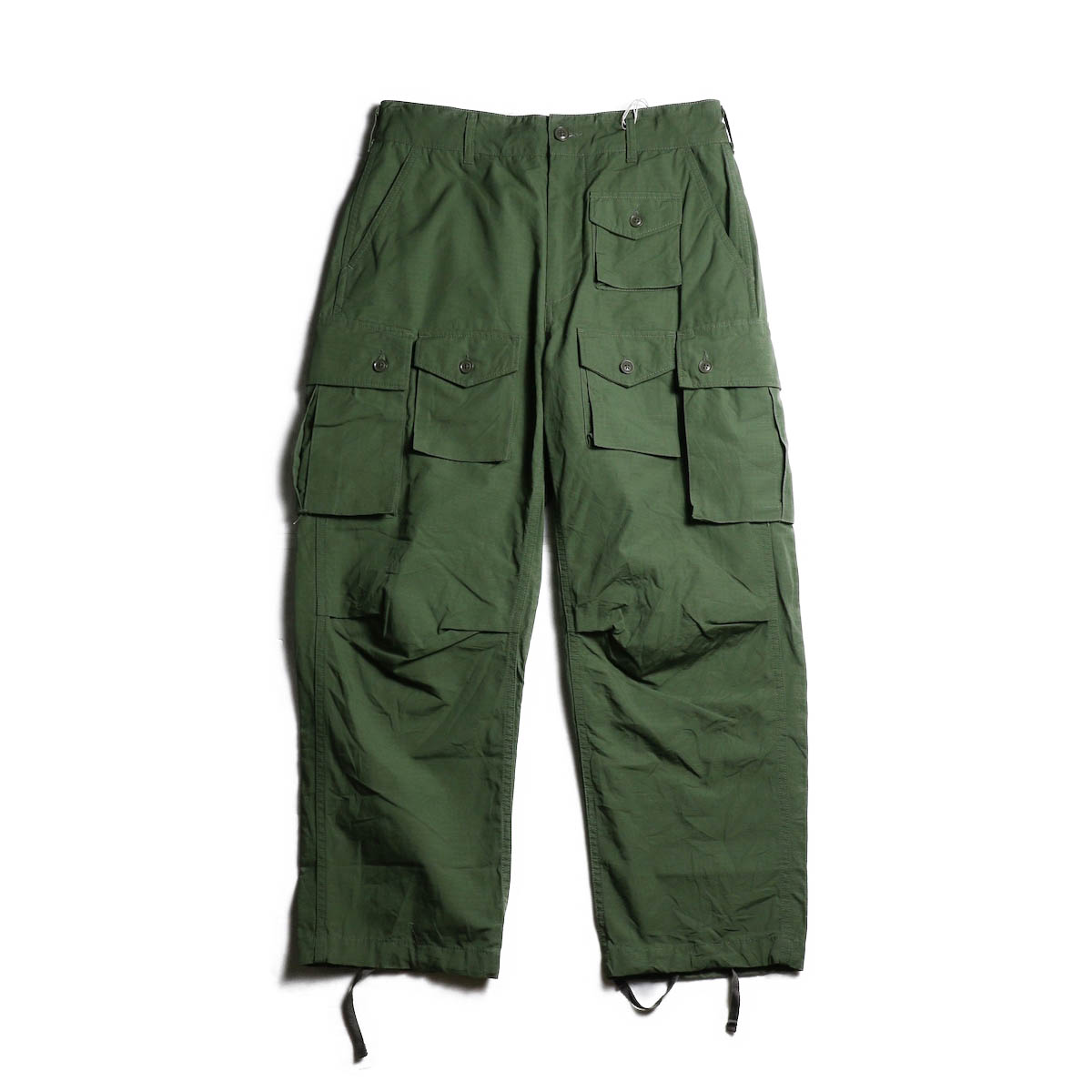 ENGINEERED GARMENTS /  FA Pant -Cotton Ripstop (Olive) 全体