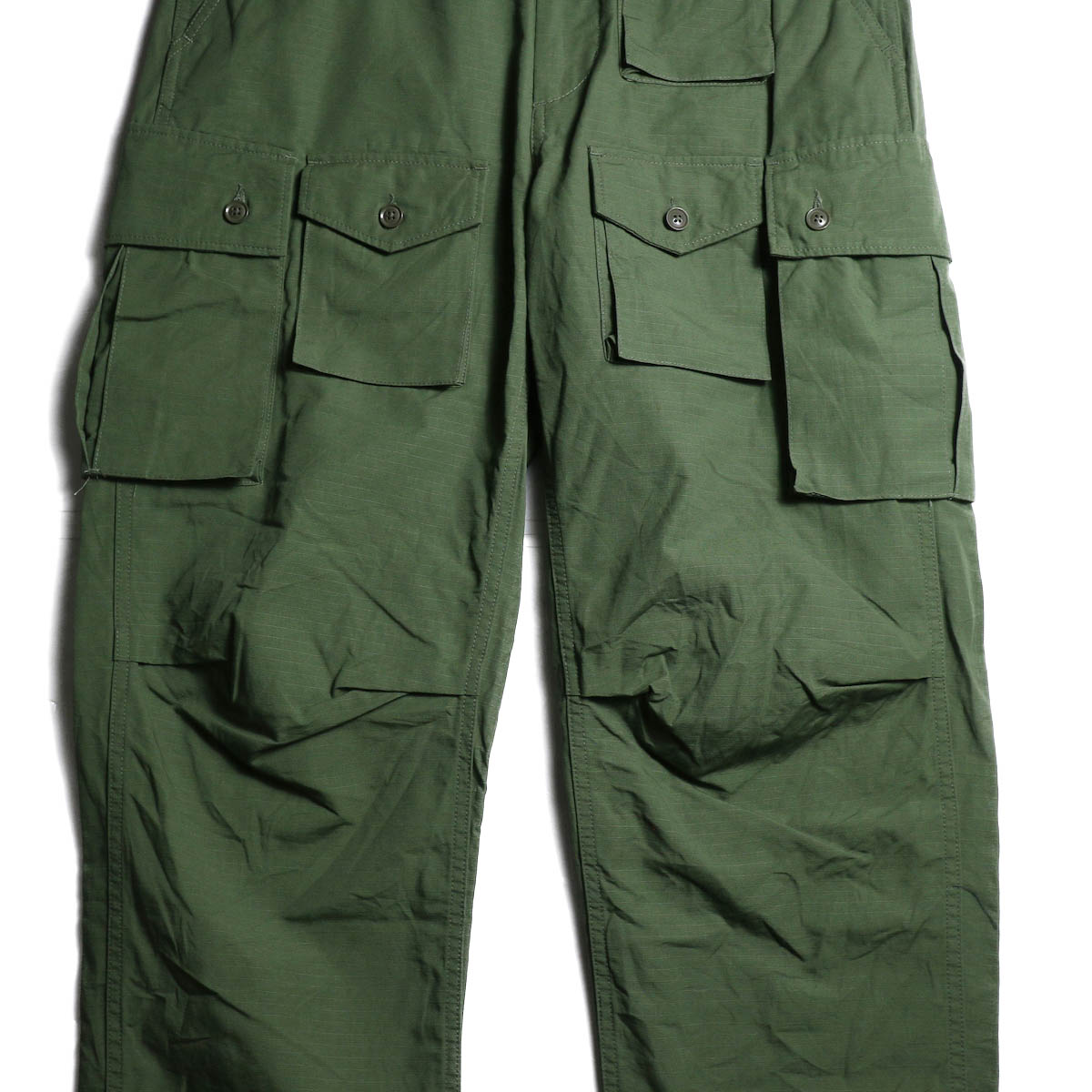 ENGINEERED GARMENTS /  FA Pant -Cotton Ripstop (Olive) ポケット
