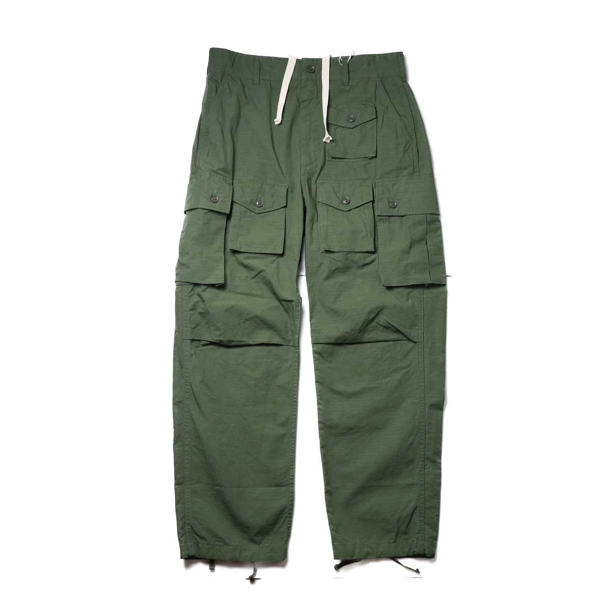 ENGINEERED GARMENTS / FA Pant - Cotton Ripstop (Olive)