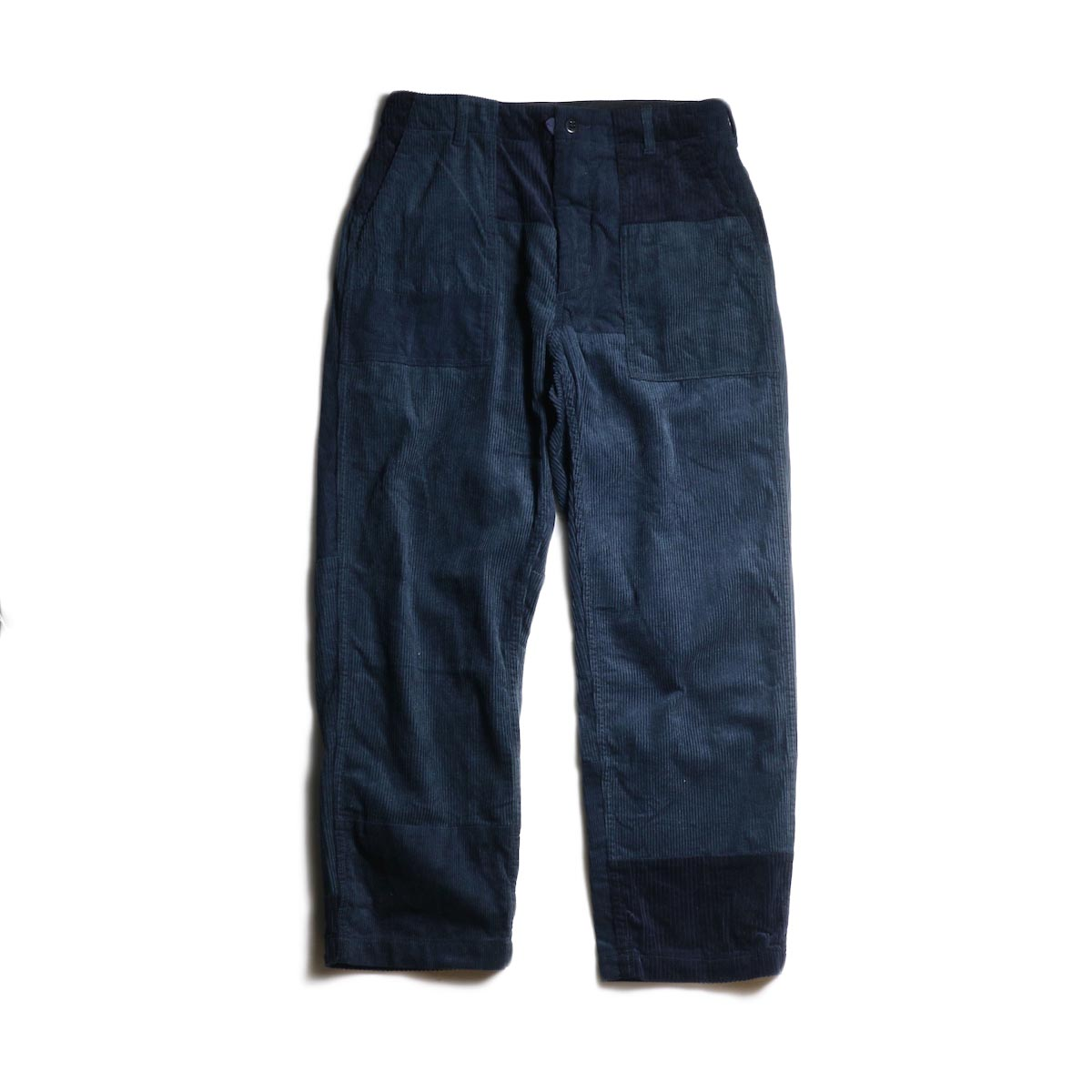 ENGINEERED GARMENTS / Fatigue Pant -8W Corduroy (Navy)