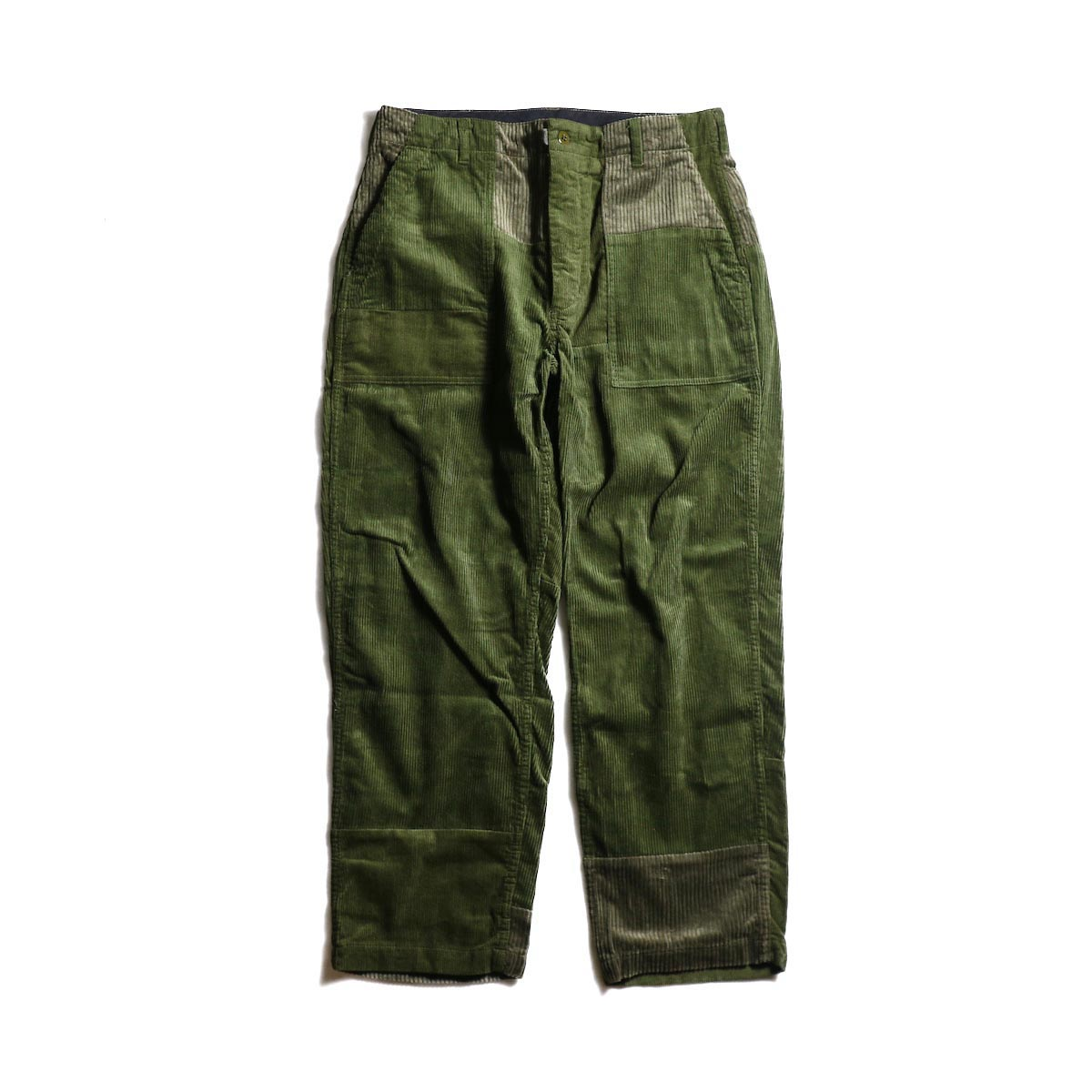ENGINEERED GARMENTS / Fatigue Pant -8W Corduroy (Olive)