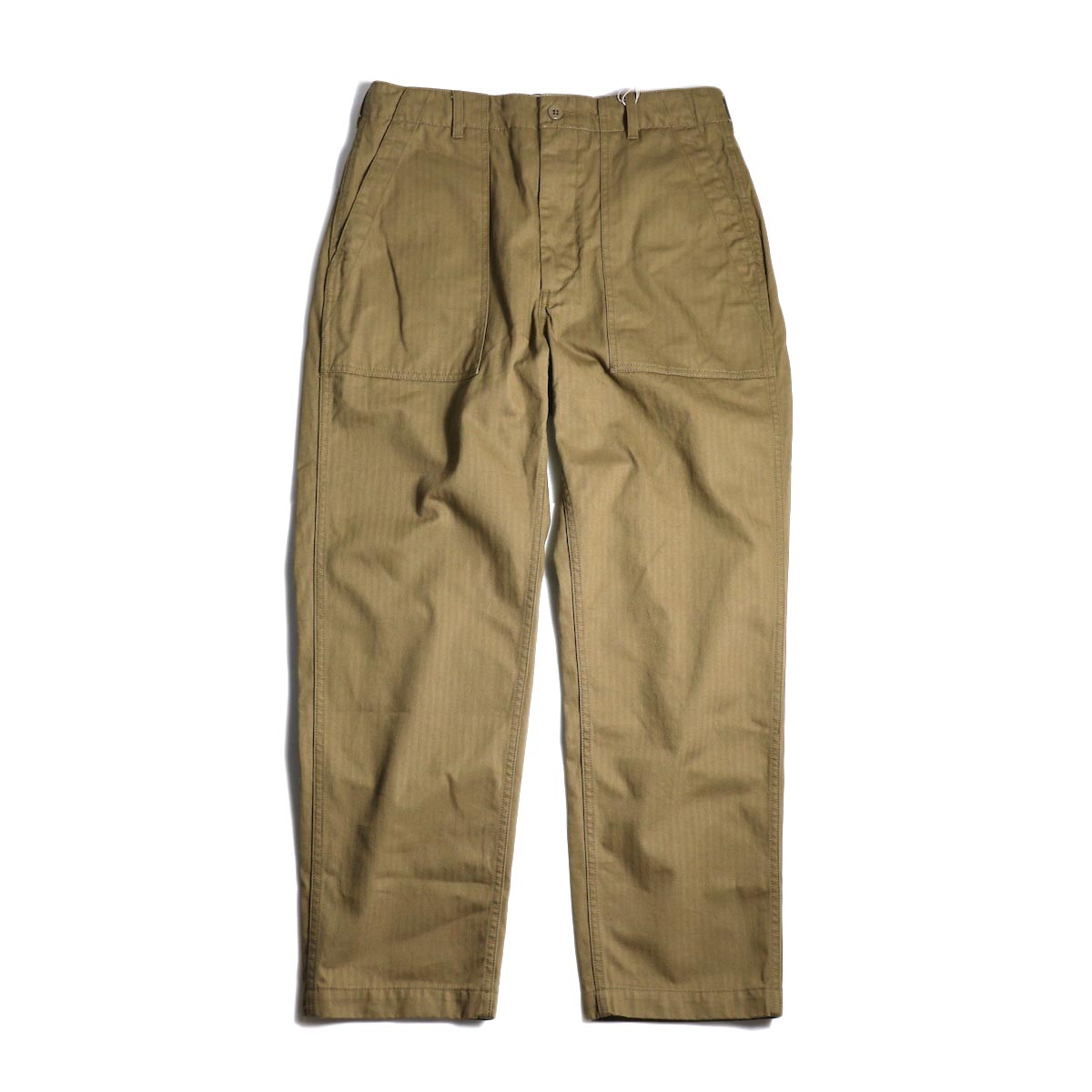 ENGINEERED GARMENTS / Fatigue Pant-HB Twill (Brown)