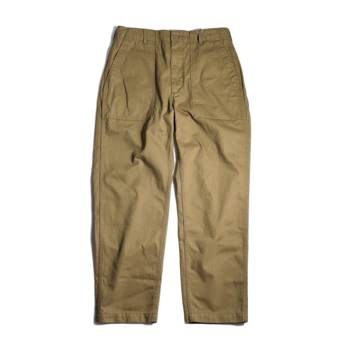 ENGINEERED GARMENTS / Fatigue Pant-HB Twill (Brown)全体