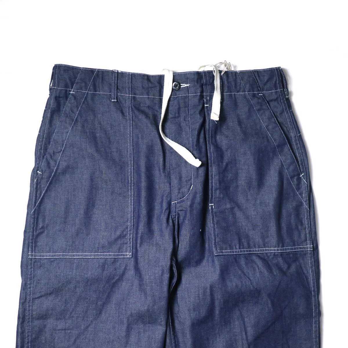 Engineered Garments / Fatigue Pant - 8oz Cone Denim (Indigo)ウエスト