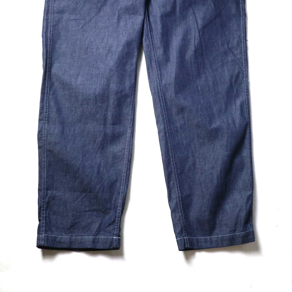 Engineered Garments / Fatigue Pant - 8oz Cone Denim (Indigo)裾