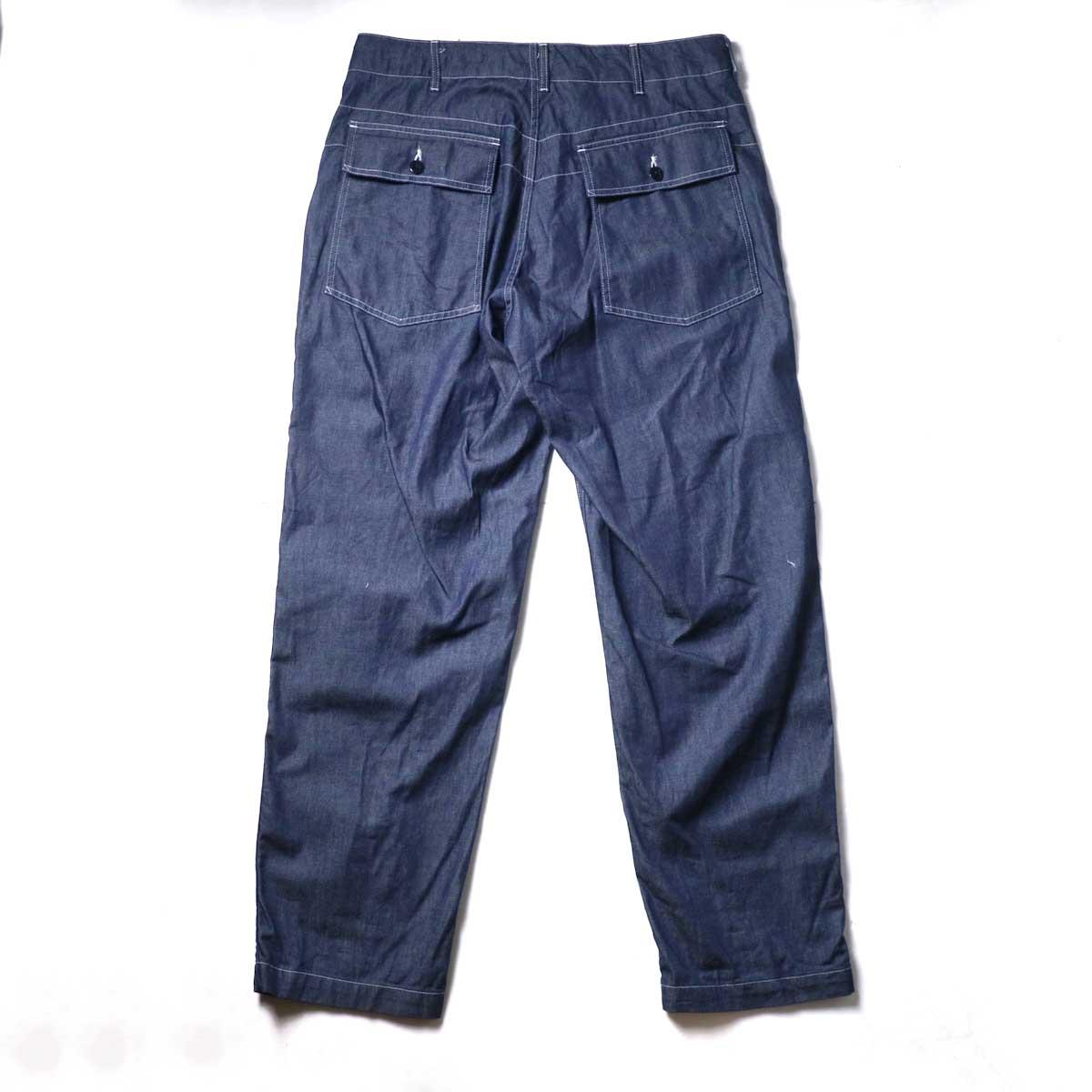 Engineered Garments / Fatigue Pant - 8oz Cone Denim (Indigo)背面