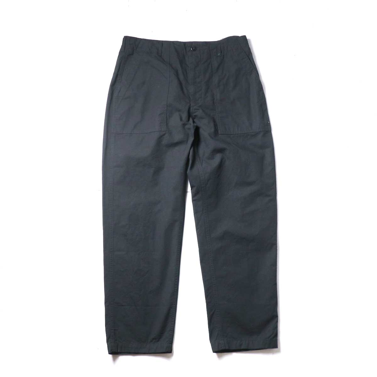 Engineered Garments / Fatigue Pant - Cotton Ripstop (Black)正面