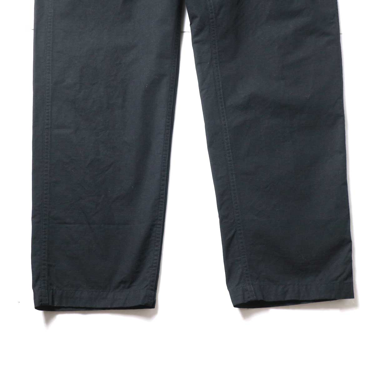 Engineered Garments / Fatigue Pant - Cotton Ripstop (Black)裾