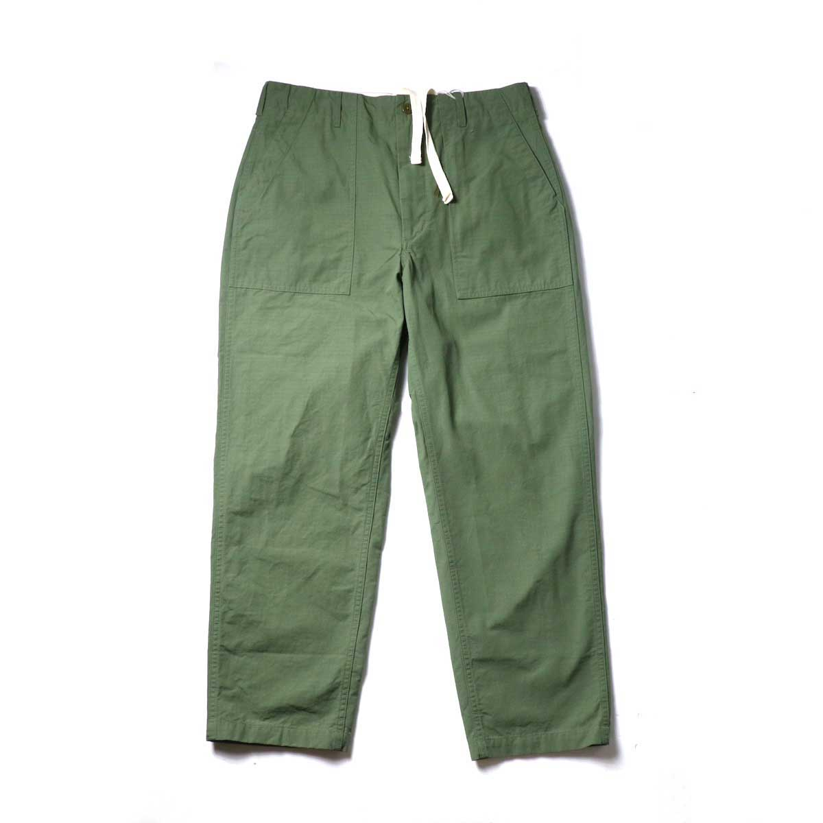 Engineered Garments / Fatigue Pant - Cotton Ripstop (Olive)正面