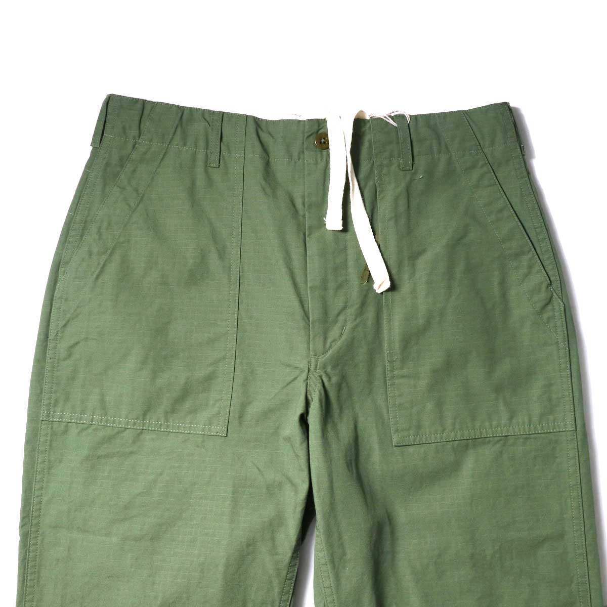 Engineered Garments / Fatigue Pant - Cotton Ripstop (Olive)ウエスト