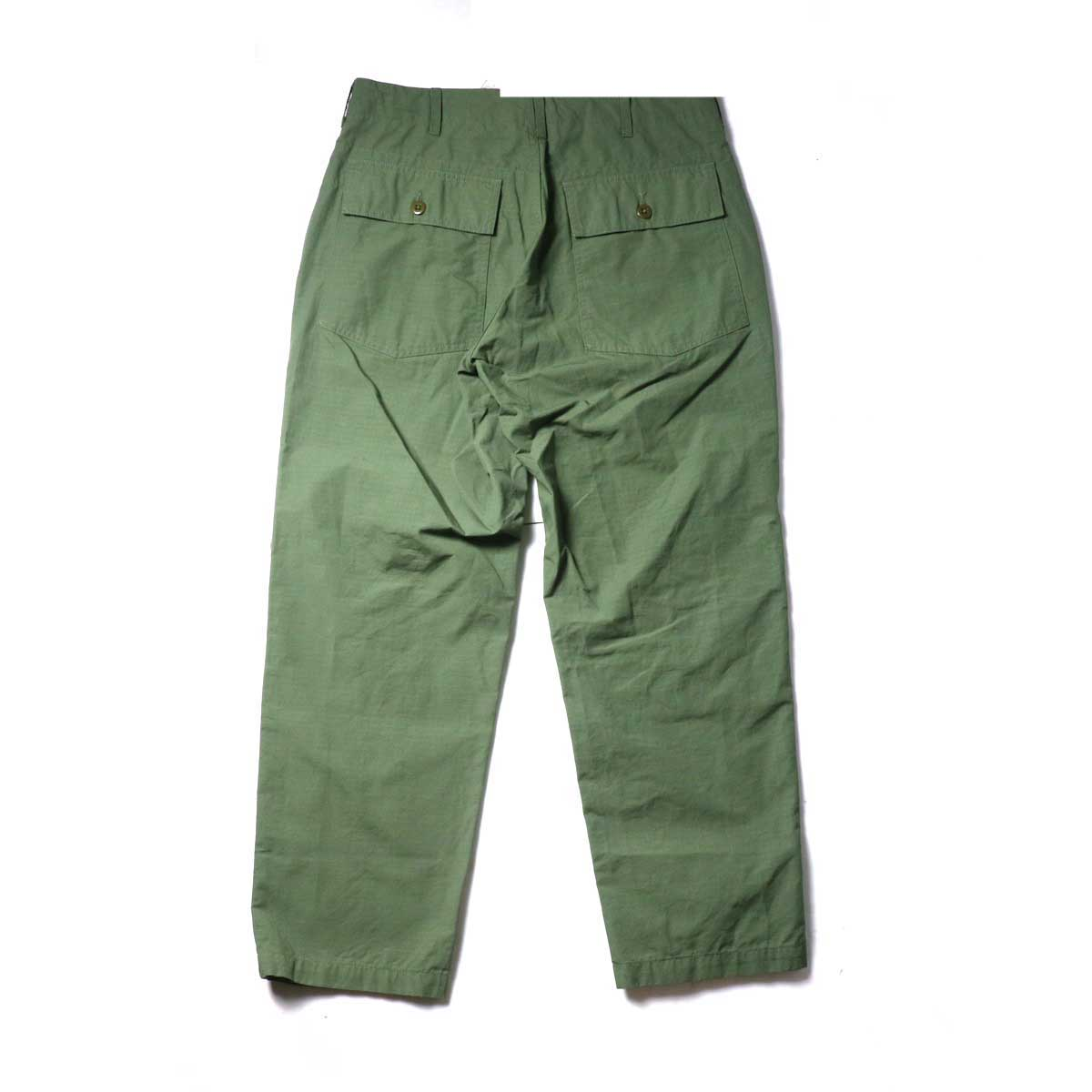 Engineered Garments / Fatigue Pant - Cotton Ripstop (Olive)背面