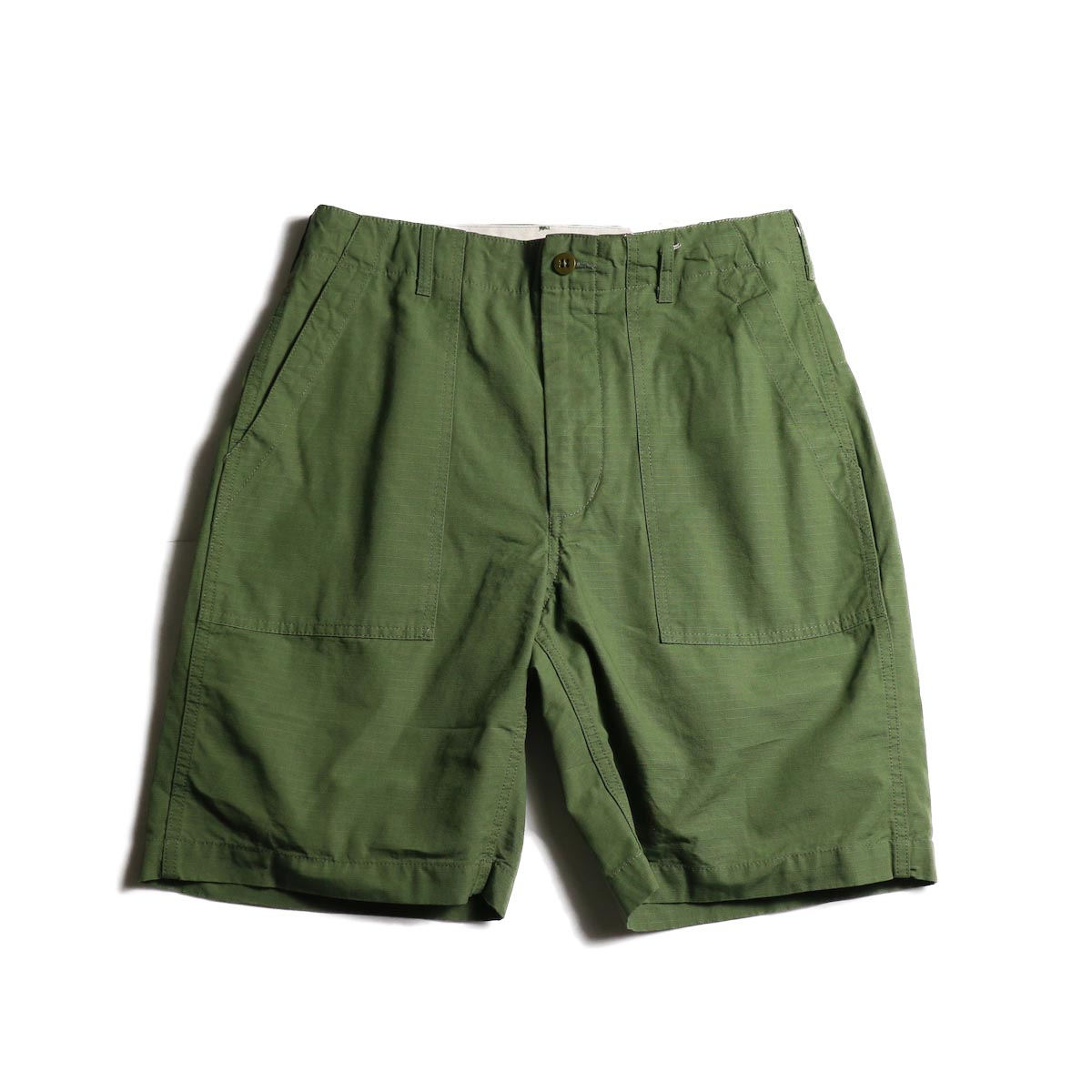 ENGINEERED GARMENTS /  Fatigue Short -COTTON RIPSTOP (Olive)